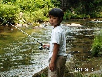 釣り師の兄ちゃん